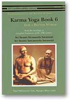 Karma Yoga Book 6   For a Better World